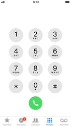 Como bloquear chamadas de um número específico - Apple iPhone 8 - Passo 3