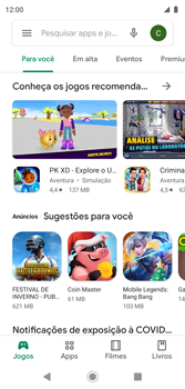 Como baixar aplicativos - Motorola Moto G7 Play - Passo 4