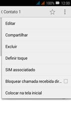 Como bloquear chamadas de um número específico - Huawei Y3 - Passo 5