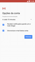 Como configurar seu celular para receber e enviar e-mails - Motorola Moto C Plus - Passo 20