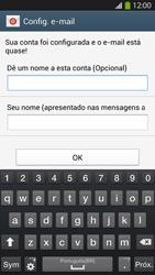 Como configurar seu celular para receber e enviar e-mails - Samsung Galaxy S IV - Passo 19