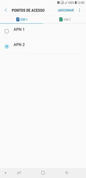 Como configurar a internet do seu aparelho (APN) - Samsung Galaxy J4+ - Passo 17