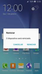 Como reiniciar o aparelho - Samsung Galaxy S6 - Passo 4