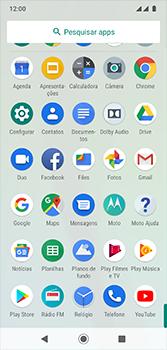Como baixar aplicativos - Motorola Moto G7 - Passo 3