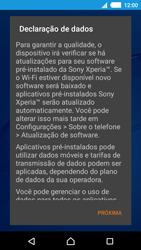 Como ativar seu aparelho - Sony Xperia M4 Aqua - Passo 11