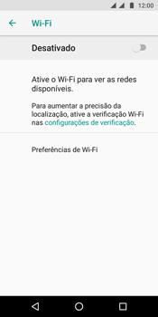 Como configurar uma rede Wi-Fi - Motorola Moto G6 Plus - Passo 5