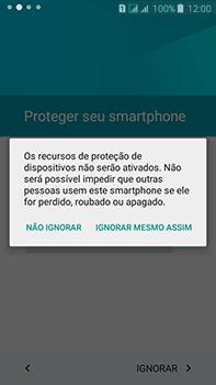Como configurar pela primeira vez - Samsung Galaxy J7 - Passo 12