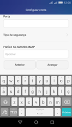 Como configurar seu celular para receber e enviar e-mails - Huawei Y6 - Passo 11