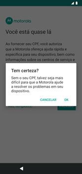 Como configurar pela primeira vez - Motorola Moto G7 Power - Passo 15