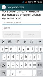 Como configurar seu celular para receber e enviar e-mails - Huawei Y3 - Passo 6