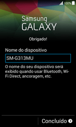 Como configurar pela primeira vez - Samsung Galaxy Ace 4 - Passo 13