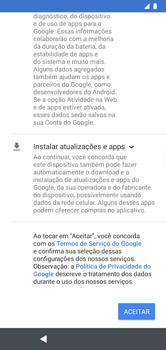 Como configurar pela primeira vez - Motorola Moto G7 Power - Passo 7