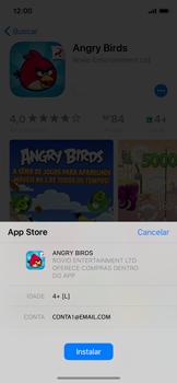 Como baixar aplicativos - Apple iPhone X - Passo 13