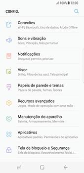 Como configurar a internet do seu aparelho (APN) - Samsung Galaxy S8 - Passo 3