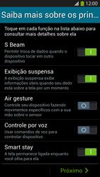 Como configurar pela primeira vez - Samsung Galaxy S IV - Passo 13