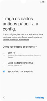 Como configurar pela primeira vez - Samsung Galaxy A50 - Passo 9