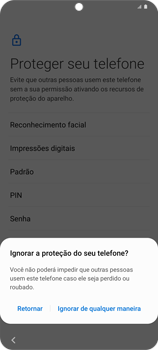 Como ativar seu aparelho - Samsung Galaxy S20 Plus 5G - Passo 13