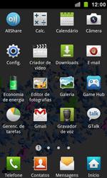 Como configurar uma rede Wi-Fi - Samsung Galaxy S II - Passo 2