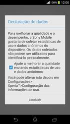 Como ativar seu aparelho - Sony Xperia SP - Passo 11