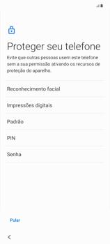 Como configurar pela primeira vez - Samsung Galaxy Note 20 5G - Passo 12