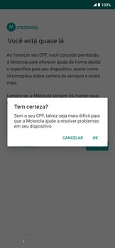 Como ativar seu aparelho - Motorola Moto E6 Plus - Passo 15