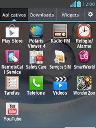 Como baixar aplicativos - LG Optimus L3 II - Passo 3