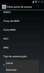 Como configurar a internet do seu aparelho (APN) - Motorola Primus Ferrari - Passo 15