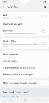 Como conectar à internet - Samsung Galaxy A10 - Passo 6