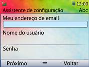 Como configurar seu celular para receber e enviar e-mails - Huawei U6020 - Passo 7