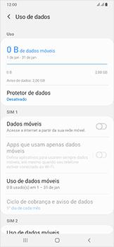 Como ativar e desativar uma rede de dados - Samsung Galaxy A50 - Passo 6