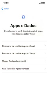 Como configurar pela primeira vez - Apple iPhone X - Passo 15