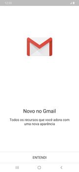 Como configurar seu celular para receber e enviar e-mails - Samsung Galaxy A20 - Passo 5