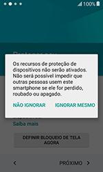 Como configurar pela primeira vez - Samsung Galaxy J1 - Passo 13