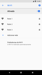Como configurar uma rede Wi-Fi - Google Pixel 2 - Passo 6
