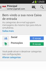 Como configurar seu celular para receber e enviar e-mails - Samsung Galaxy Grand Neo - Passo 4