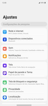 Como conectar à internet - LG K62+ - Passo 4