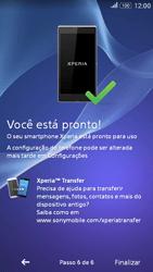 Como configurar pela primeira vez - Sony Xperia E4G - Passo 11