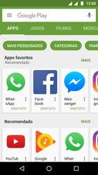 Como baixar aplicativos - Motorola Moto G5 - Passo 5