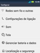 Como ativar e desativar uma rede de dados - Motorola Master - Passo 3