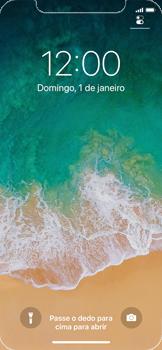 Como reiniciar o aparelho - Apple iPhone X - Passo 4