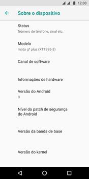 Como encontrar o número de IMEI do seu aparelho - Motorola Moto G6 Plus - Passo 5