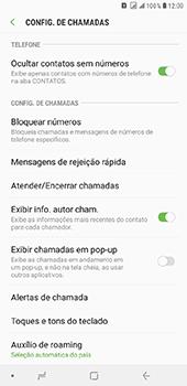 Como bloquear chamadas de um número específico - Samsung Galaxy J8 - Passo 6