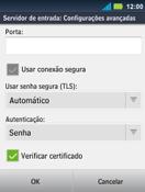 Como configurar seu celular para receber e enviar e-mails - Motorola Master - Passo 14