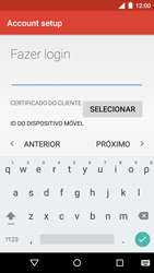 Como configurar seu celular para receber e enviar e-mails - Motorola Moto G (3ª Geração) - Passo 13