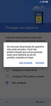 Como ativar seu aparelho - Samsung Galaxy S8 - Passo 12