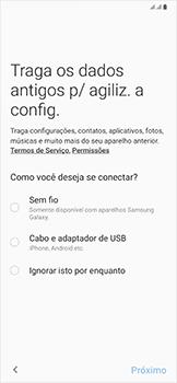 Como configurar pela primeira vez - Samsung Galaxy A50 - Passo 8