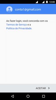 Como configurar seu celular para receber e enviar e-mails - Motorola Moto G (4ª Geração) - Passo 13