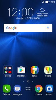 Como configurar pela primeira vez - Asus ZenFone 3 - Passo 1