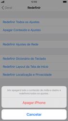 Como restaurar as configurações originais do seu aparelho - Apple iPhone 8 - Passo 6