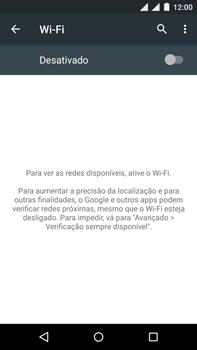 Como configurar uma rede Wi-Fi - Motorola Moto X Play - Passo 4
